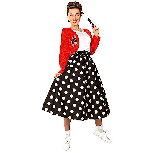 e016892fd612 Rubie's Costume Fabulous 50's Polka Dot Sock Hop Girl Costume