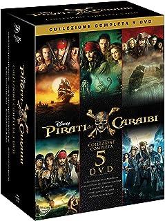 Pirati Dei Caraibi Collection 1-5 (5 Dvd) [Italia]
