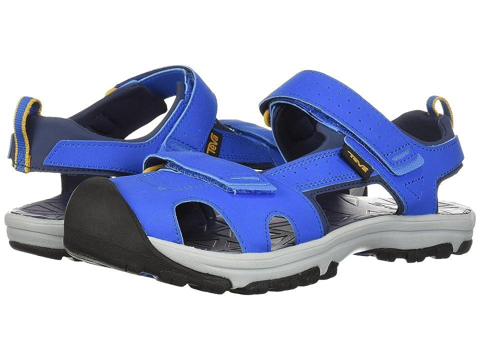 Teva Kids Hurricane Toe Pro (Big Kid) (Dazzling Blue) Boys Shoes