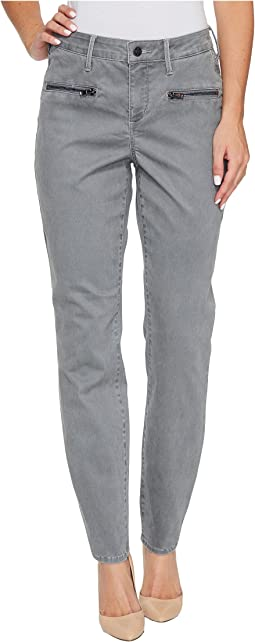 NYDJ - Skinny Chino Pants w/ Zipper