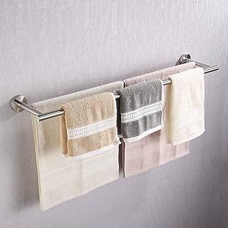 KES Double Towel Bar SUS 304 Stainless Steel Bathroom Towel Rack 30 Inch Bath Towel Holder RUSTPROOF Wall Mount Brushed Finish, A2001S75-2