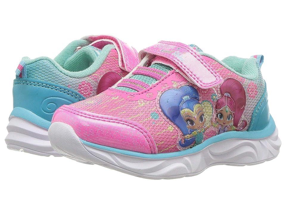 Josmo Kids Shimmer and Shine Sneaker (Toddler/Little Kid) (Pink/Blue) Girls Shoes