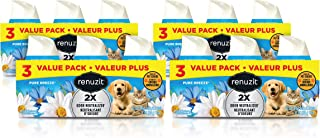 Renuzit Gel Air Freshener, Pure Breeze Pet, Tough on Pet Odors, 12Count