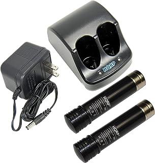 HQRP–Cargador de batería y dos baterías para Black & Decker, 3,6V Versapak VP100, VP11022–4040–22–4035vp130vp100C vp105C vp110C 152370–03Power Tools + HQRP–Posavasos
