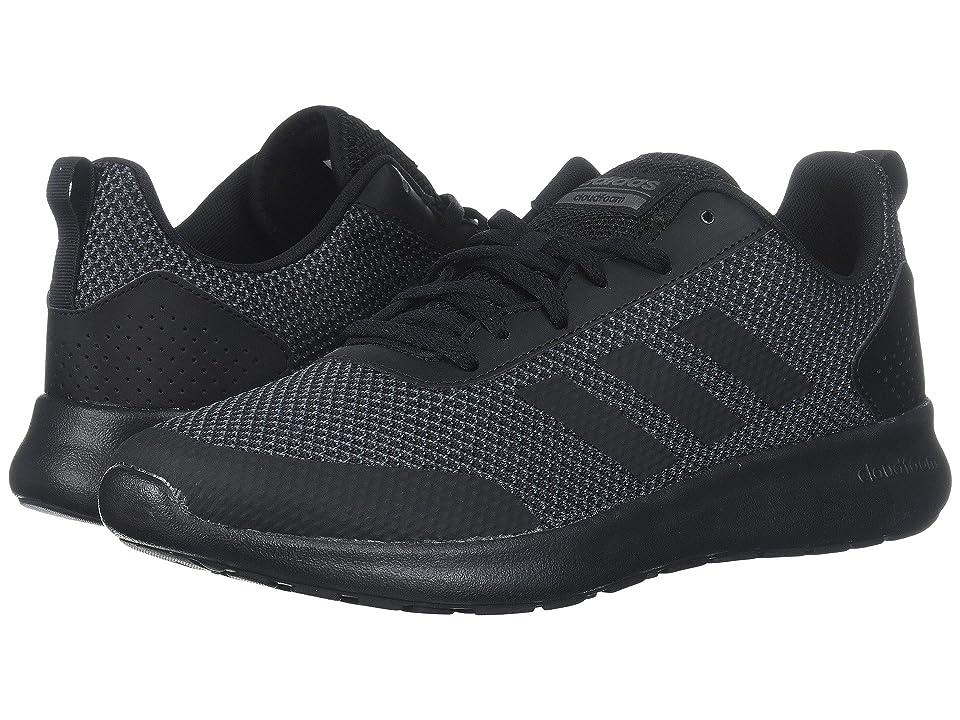 adidas Cloudfoam Element Race (Black/Black/Grey Five) Men
