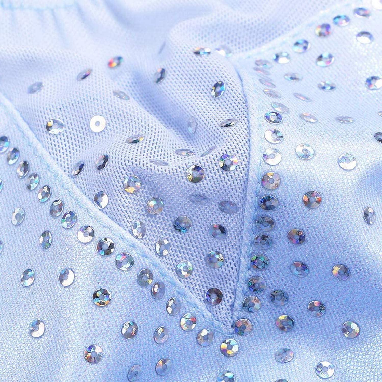 Zaclotre Toddler Girls Gymnastics Leotards Sparkly Shiny Diamond Ballet Biketards One Piece