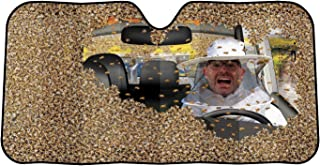 Archie McPhee Car Full of Bees: Auto Sunshade Standard