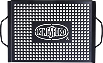 Kingsford Heavy Duty Non-Stick Grill Topper | Non-Stick, Rust Resistant Grill Pan with Handles | Easy to Use BBQ Grill Acc...
