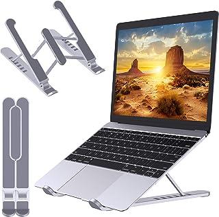 Babacom Support Ordinateur Portable, Support PC Portable Pliable et Ventilé, 6 Niveaux de Réglage, Refroidisseur Ergonomiq...