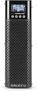 Salicru SLC 3000 Twin PRO2 B1 SAI On-Line Doble conversión de 700 VA a 3000 VA - Fuente de alimentación Continua (UPS) (Tipo F, 4 Salidas AC, Plomo-Calcio (PB-Ca), AGM, Torre, Negro)