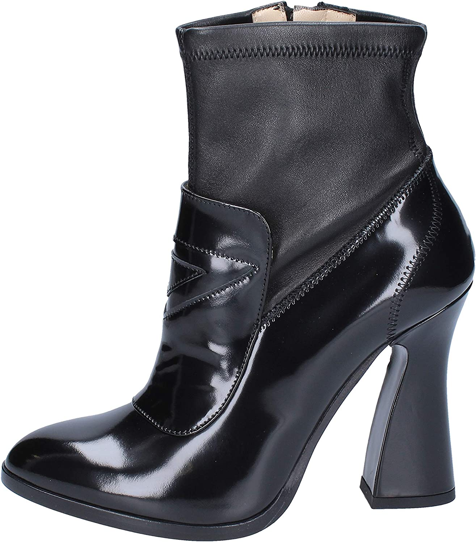 ROBERTO BOTTICELLI BOTTICELLI BOTTICELLI stövlar kvinnor läder svart  erbjudanden försäljning