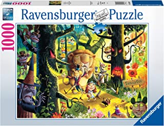 Ravensburger 16566 Lions, Tigers & Bears, Oh My! - 1000 PC Puzzles for Adults – Every Piece is Unique, Softclick Technolog...