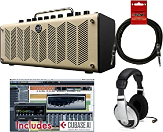 Yamaha THR10 10 Watt Stereo Amplifier/Recording Interface w/Cubase, Cable, and Headphones