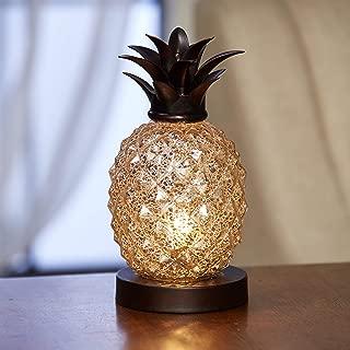 Pineapple Glass Table Lamp