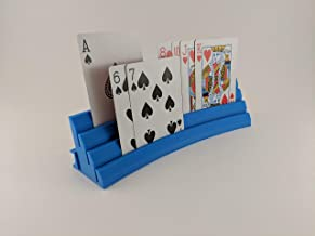 HERO Creations Playing Card Tray Holder for Cards-Boardgames terraforming Mars Twilight Imperium Gloomhaven(Blue)