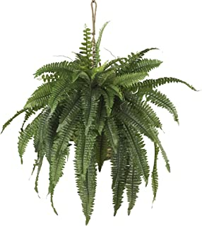 Nearly Natural 6774 22in. Large Boston Fern Hanging Basket