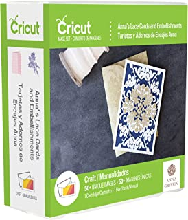 Provo Craft Cricut Shape Cartridge-Anna Griffin Lace Cards & Embellishments