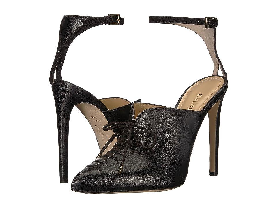 CHLOE GOSSELIN Salix Ankle Strap Bootie (Black) Women