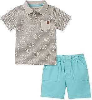 Baby Boys' 2 Pieces Polo Shorts Set