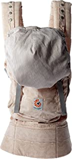 Ergobaby Original Award Winning Ergonomic Multi-Position Baby Carrier with X-Large Storage Pocket, Rose Harmony