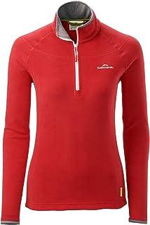 Kathmandu Ridge Women's 1/4 Zip Jumper Warm Fleece Hiking Pullover v3