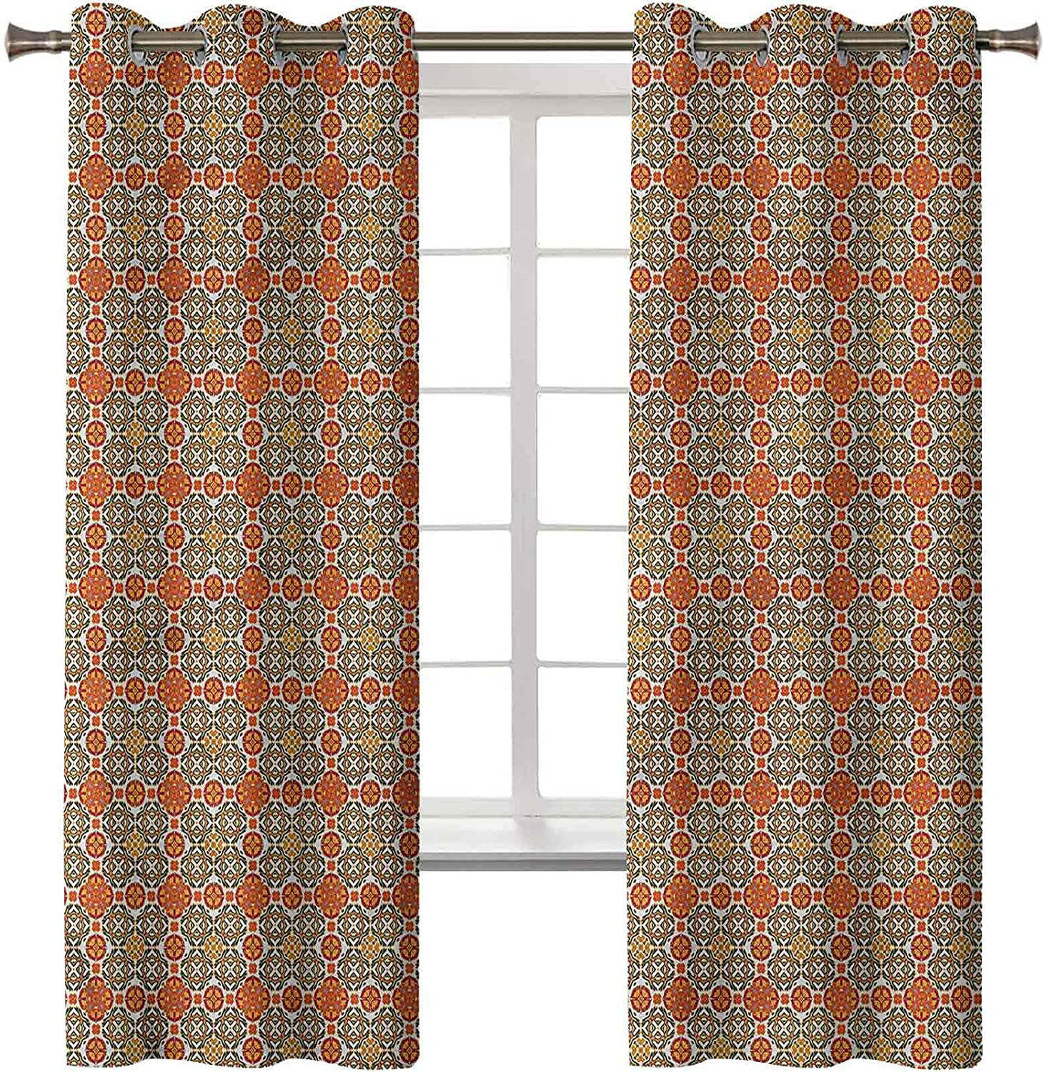 Blackout NEW before selling Reservation Curtains Window Treatment V Thermal Moroccan Insulated