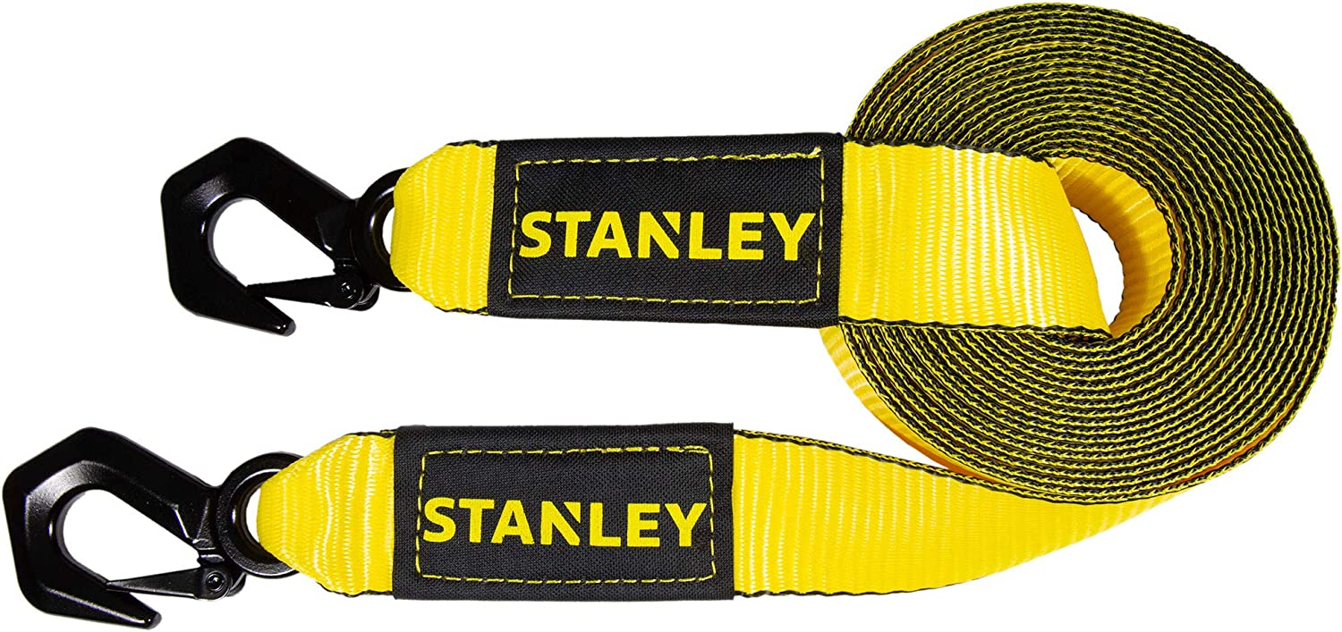 STANLEY Albuquerque Mall Tow Strap with Tri-Hook 2 in. x - ft. 9 30 LB Selling and selling Brea 000