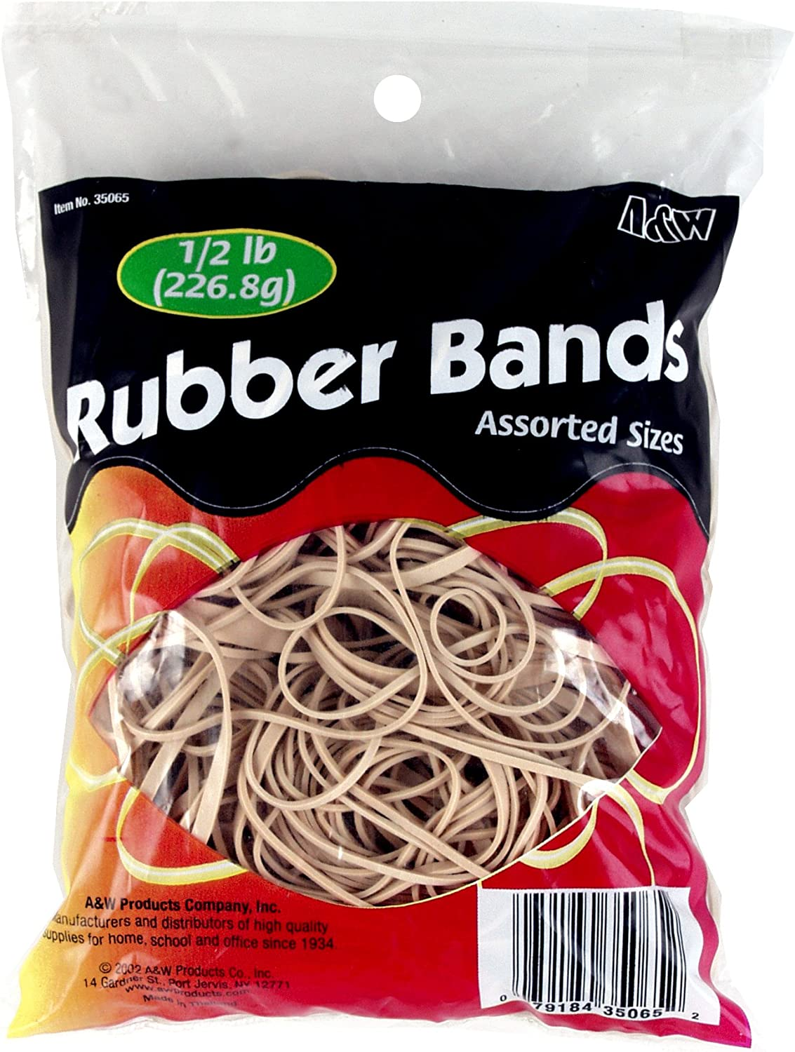 Over item handling   HQ Advance Products Rubber Bands Sizes ...