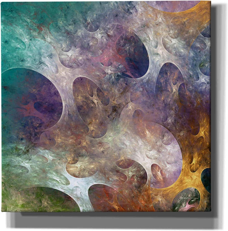 half Epic Graffiti 'Lunar Tiles IV' by Burghardt Ranking TOP20 Giclee James Canvas