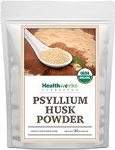 Healthworks Psyllium Husk Powder (32 Ounces / 2 Pounds) | Raw | Certified Organic | Finely Ground Powder from India | Keto...