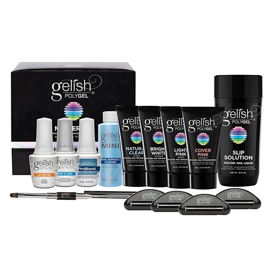 噴水原理無駄にHarmony Gelish Gel Polish - PolyGel - Master Kit