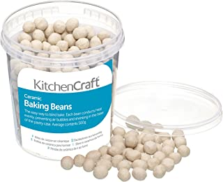 Kitchen Craft KCBEANS Billes de cuisson en caramique pour patisserie, 500 g, beige