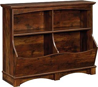 Sauder Harbor Viewe Bin Bookcase, Curado Cherry finish