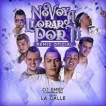 No Voy A Llorar Por Ti (Dj Emsy Remix)