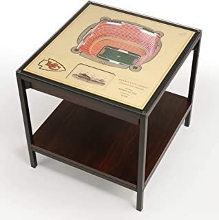 YouTheFan NFL 25-Layer Team StadiumViews Lighted Table - 23