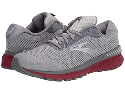 Brooks Adrenaline GTS 20 (Grey/Silver/Red) Men