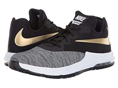 Nike Air Max Infuriate III Low (Black/Metallic Gold/White) Men