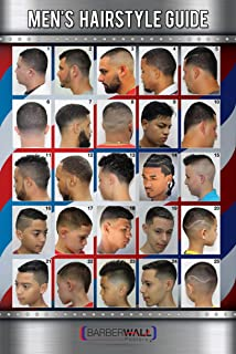Barber Poster | Barber Shop Poster Already Laminated For Fade Prevention | Dimension 24 x 36 inches. Crisp Images You Will Love.