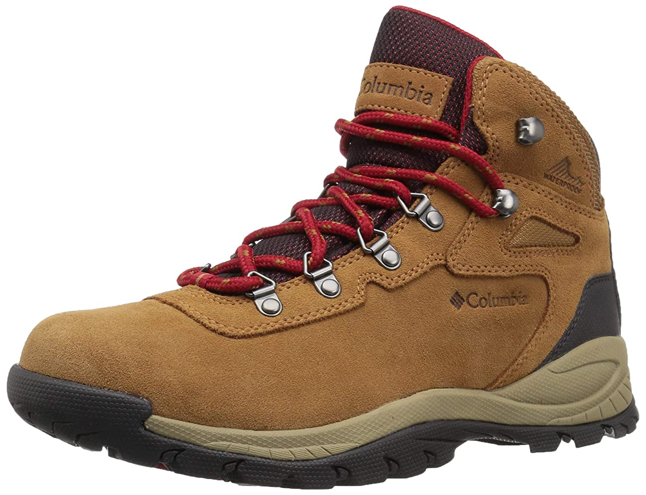 Columbia Women's Newton Ridge Plus Waterproof Amped Wide Boot, Ankle Support, High-Traction Grip
