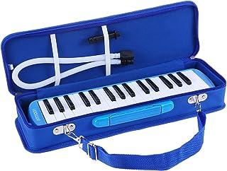 ammoon Melodica 32 Teclas con Paquete Duro Pianica Teclado