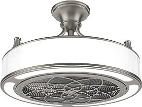 Stiles Anderson CF0110 Indoor/Outdoor Brushed Nickel Ceiling Fan 22 in