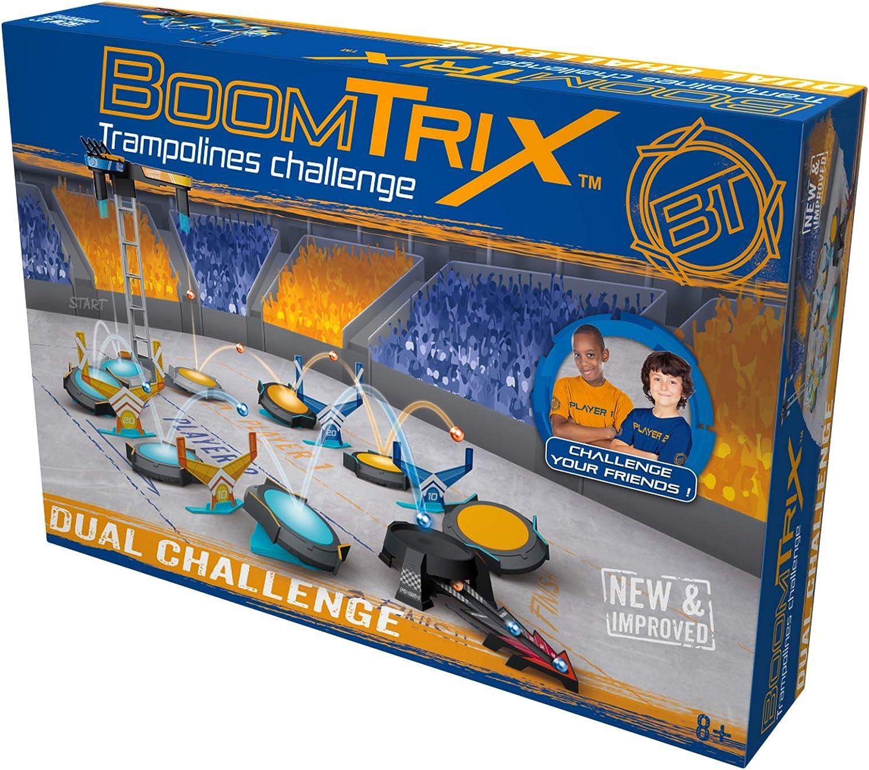 Goliath Boomtrix Dual Challenge Set Juego de construcci/ón a Partir de 6 a/ños Juego de Mesa