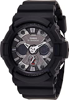 Casio G-Shock Men's Ana-Digi Dial Resin Band Watch - GA-201-1ADR