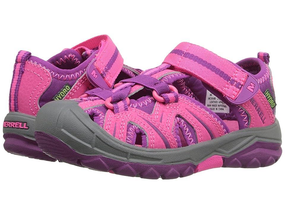 Merrell Kids Hydro (Toddler/Little Kid) (Pink) Girls Shoes