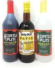 Datu Puti Vinegar, Soy Sauce, & Fish Sauce (Patis) Value Pack