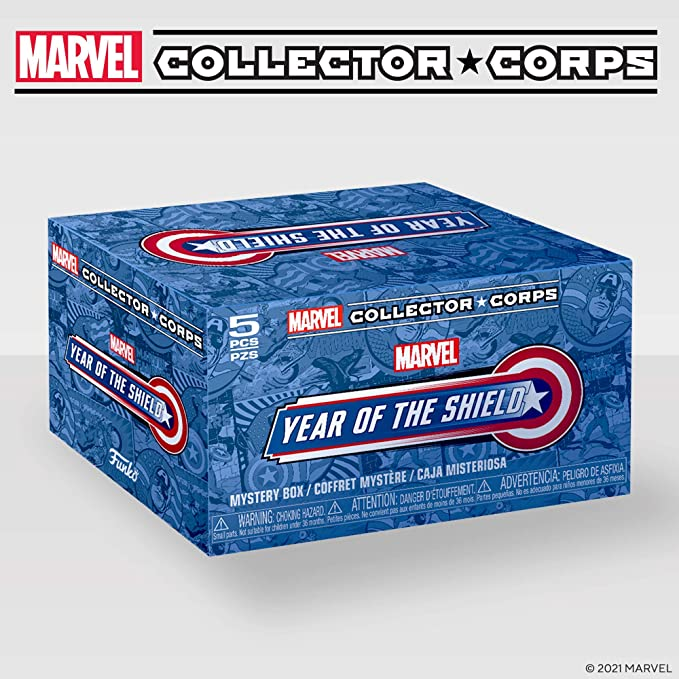 LARGE Marvel Collector Corps SUPERHERO SHOWDOWN - FEBRUARY 2017 BOX ~ FUNKO