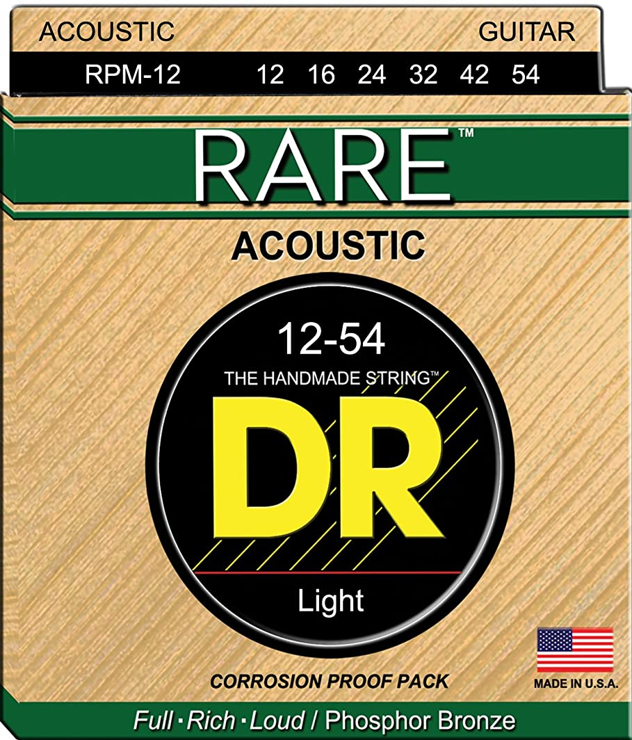 狂信者阻害する名義でDR RARE アコースティックギター弦 DR-RPM12