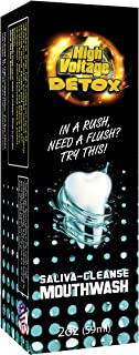 Best High Voltage Saliva Cleanser Mouthwash Mouth Body Detox Cleaner Review