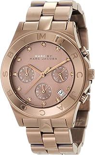 d3898cdae8880 Marc by Marc Jacobs Brown Dial SS Chronograph Quartz Ladies Watch MBM3121