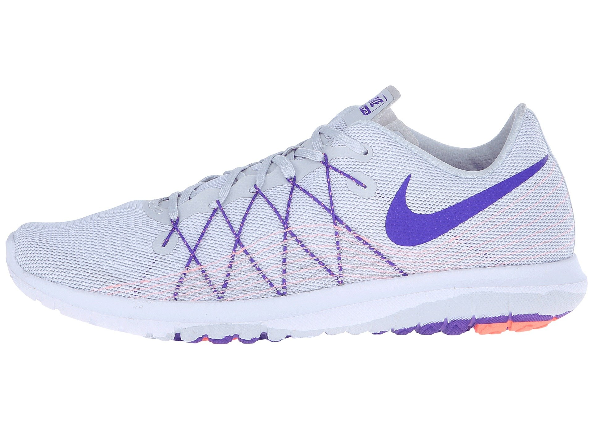 pretty nice cad46 4d2ae Nike Flex Fury 2, Pure Platinum Atomic Pink White Fierce Purple